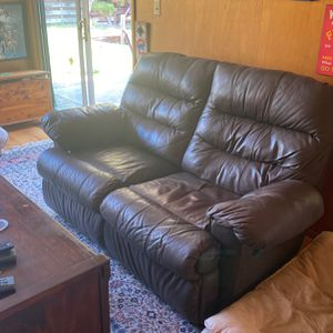 Matching Loveseats With Recliners - Sold Together for Sale in Fremont, CA
