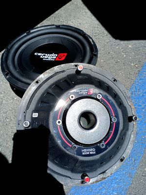 Subwoofers (never used) for Sale in Oceanside, CA