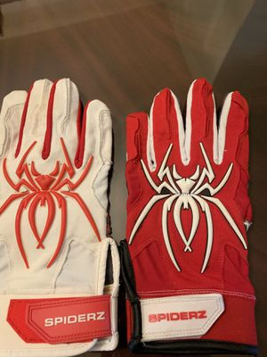 Spiderz baseball / softball batting gloves for Sale in Chicago, IL