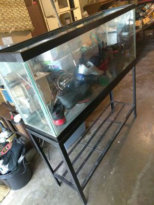 55 Gallon Fish Tank And All Accessories for Sale in Pittsburgh, PA