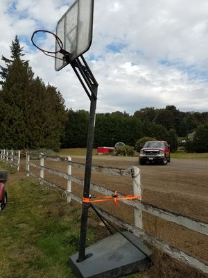 Portable basketball hoop for Sale in Renton, WA