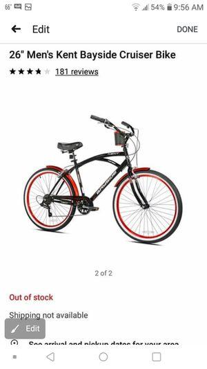 Men's Kent Bayside cruiser bike for Sale in Stockton, CA