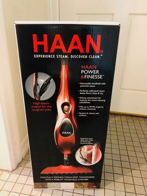 Used, NEW UNOPENED, HAAN Floor Steam Cleaner for Sale for sale  San Jose, CA