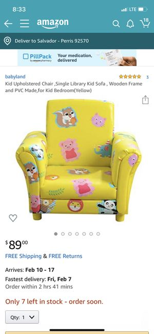 Babyland kids chair for Sale in Perris, CA