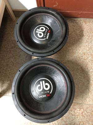 """DB drive WDX 15"""" 3000 watts Subwoofer for Sale in Houston, TX"""