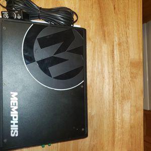 Memphis Audio Prx500.1 With Remote Gain Knob for Sale in La Center, WA