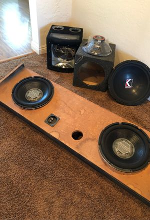 Speakers and boxes for Sale in Signal Hill, CA