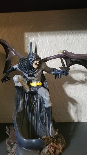 Vampire batman statue collectable for Sale in Citrus Heights, CA