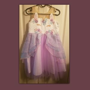 AmzBarley Girls Unicorn Dress Princess Costume Tutu Dress (10) for Sale in Ithaca, NY