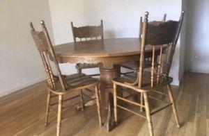 "Kitchen Table Oak Round 47"" for Sale in Garden Grove, CA"