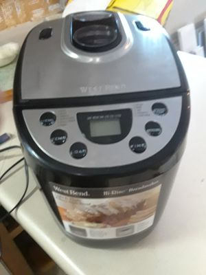 West bend bread maker for Sale in Peoria, IL