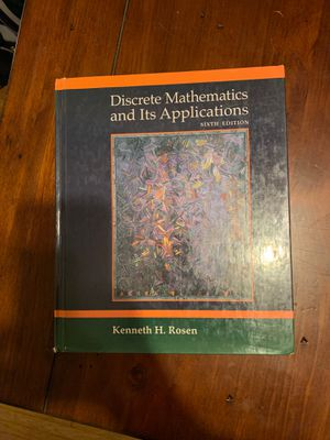 FREE Discrete Mathematics + Solution Manual for Sale in Columbus, OH