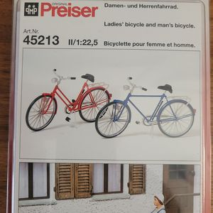 Preiser Bicycle #45213 1:22 for Sale in Wixom, MI