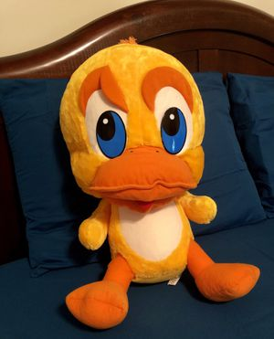 Free Big yellow stuffed duck, Like new condition for Sale in Stone Mountain, GA