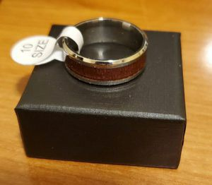 Hawaiian Koa Wood Wedding Ring Size 10 NEW for Sale in Elk Grove, CA