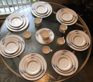 Lenox Chinastone 29 pieces Blue Brushstrokes for Sale in Beaverton, OR