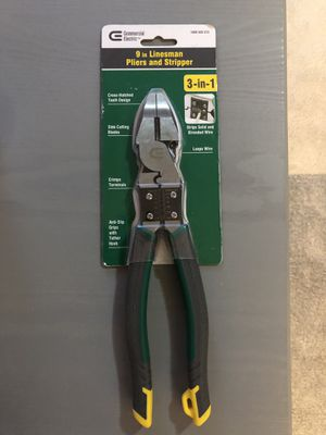 9 in. High-Leverage Multi-Purpose Linesman Pliers for Sale in Columbus, OH