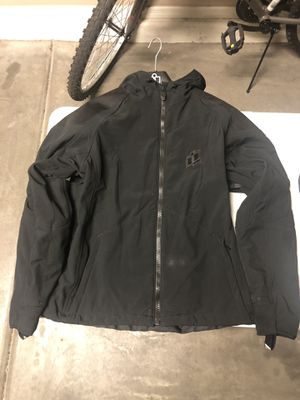 ICON Textile Motorcycle Jacket with Hoodie - M for Sale in Tempe, AZ