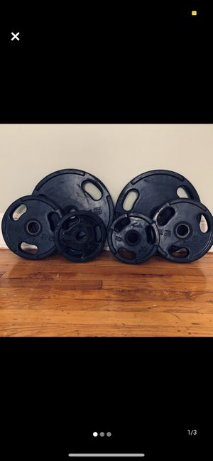 GP Urethane Olympic weight set 160LBs for Sale in The Bronx, NY