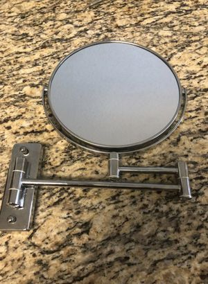 Wall mounted bathroom mirror with magnification for Sale in Davie, FL