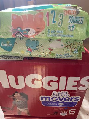 Huggies size 6/2 wipes for Sale in Avondale, AZ