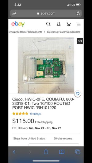 Cisco-Routed Port HWIC for Sale in Portland, OR