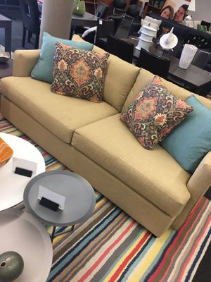 Sander Sofa with pillows for Sale in Tulsa, OK