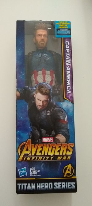Captain America 12-Inch Action Figure for Sale in Highland, CA