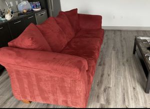 Red sofa from value city furniture for Sale in Vienna, VA