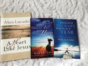 USED 3 books: author Max Lucado for Sale in Danbury, CT
