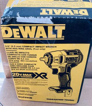 Dewalt XR 3/8 20v Impact wrench Brushless tool for Sale in Queens, NY