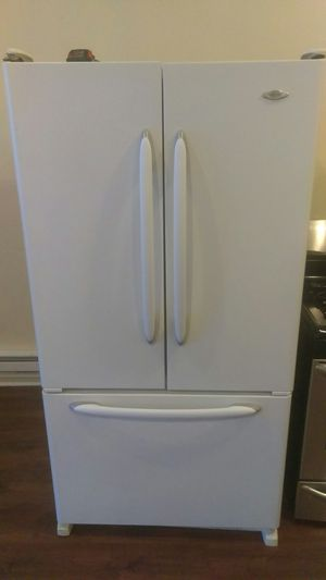 Maytag!!! White 3 door fridge very spacious for Sale in Chicago, IL