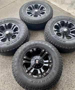 """18"""" rims & tires. 6x5.5 or 6x135. for Sale in Renton, WA"""