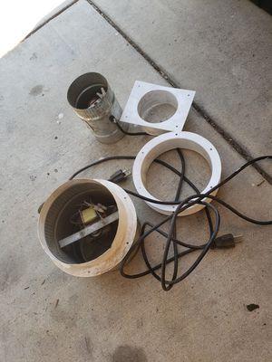 Inline light heat exhaust fans grow tent indoor greenhouse for Sale in Claremont, CA