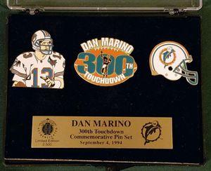 Dan Marino 300th Touchdown Pin Set for Sale in Riverside, CA