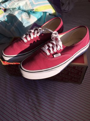 Vans burgundy for Sale in Wyndmoor, PA