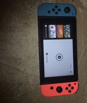 NINTENDO SWITCH & 5 games PRICE IS FIRM!! for Sale in Fresno, CA