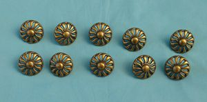 Vintage brass KBC drawer pulls for Sale in Montgomery, PA