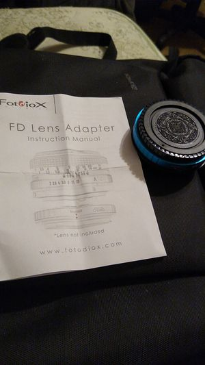 Fotodiox PRO Lens mount adapter Canon FD to Canon EF adapter for Sale in Grand Prairie, TX