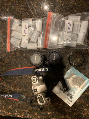 Canon Rebel 2000 35mm Camera w/ Accessories for Sale in St. Louis, MO