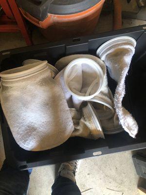 """7"""" filter socks for Sale in Monterey, CA"""