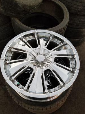 Knew 20 off Nissan Altima 5 lug universal or trade for ss trailblazer rims for Sale in El Monte, CA