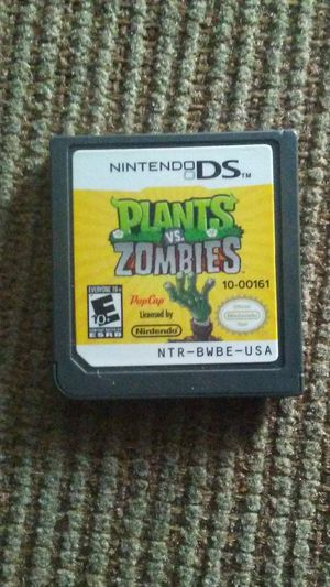 Plants vs Zombies for Nintendo DS for Sale in Oshkosh, WI