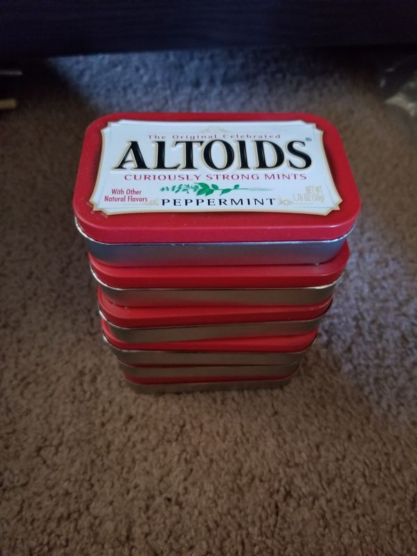 Empty altoids tins 6