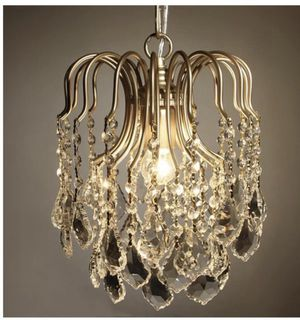 HAIXIANG Hanging Mini Chandelier $50 for Sale in Corona, CA