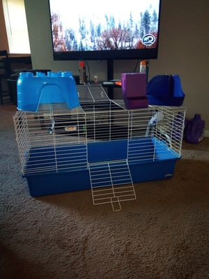 Super pet rabbit cage large all things included for Sale for sale  Bensalem, PA