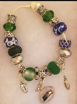 Seattle Seahawks charm bracelet 1@ $20 or 2@ $30 for Sale in Baltimore, MD