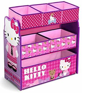 Hello Kitty Multi-Bin Organizer by Delta Children for Sale in Hayward, CA