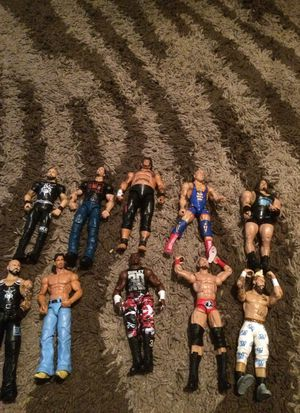 Wwe elites ten a piece for Sale in Tampa, FL