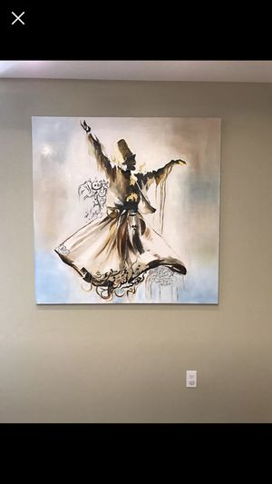 Realistic Oil Painting Mevlana for Sale in San Diego, CA